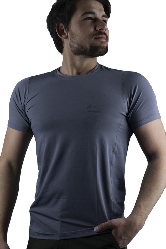 Climbolic - Climbolic Outlet Star T-Shirt Gri