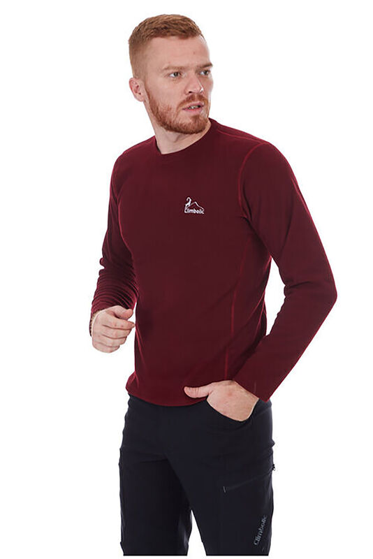 Climbolic Swiss Sweat Polar Bordo - Thumbnail