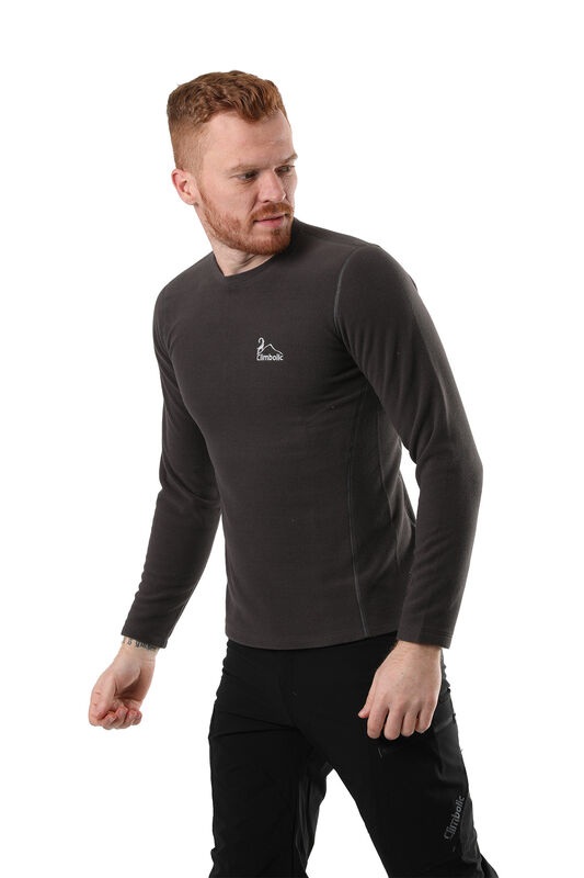 Climbolic - Climbolic Swiss Sweat Polar Füme (1)
